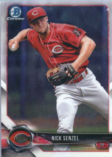 Photo of 2018 Bowman Chrome Prospects #BCP120 Nick Senzel