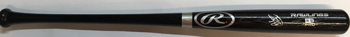 Photo of Leody Taveras Autographed Black Rawlings Bat