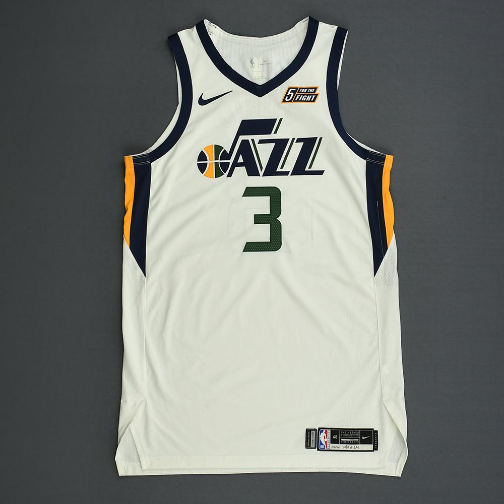 Ricky Rubio - Utah Jazz - Kia NBA Tip-Off 2018 - Game-Worn ... 3634e8375923