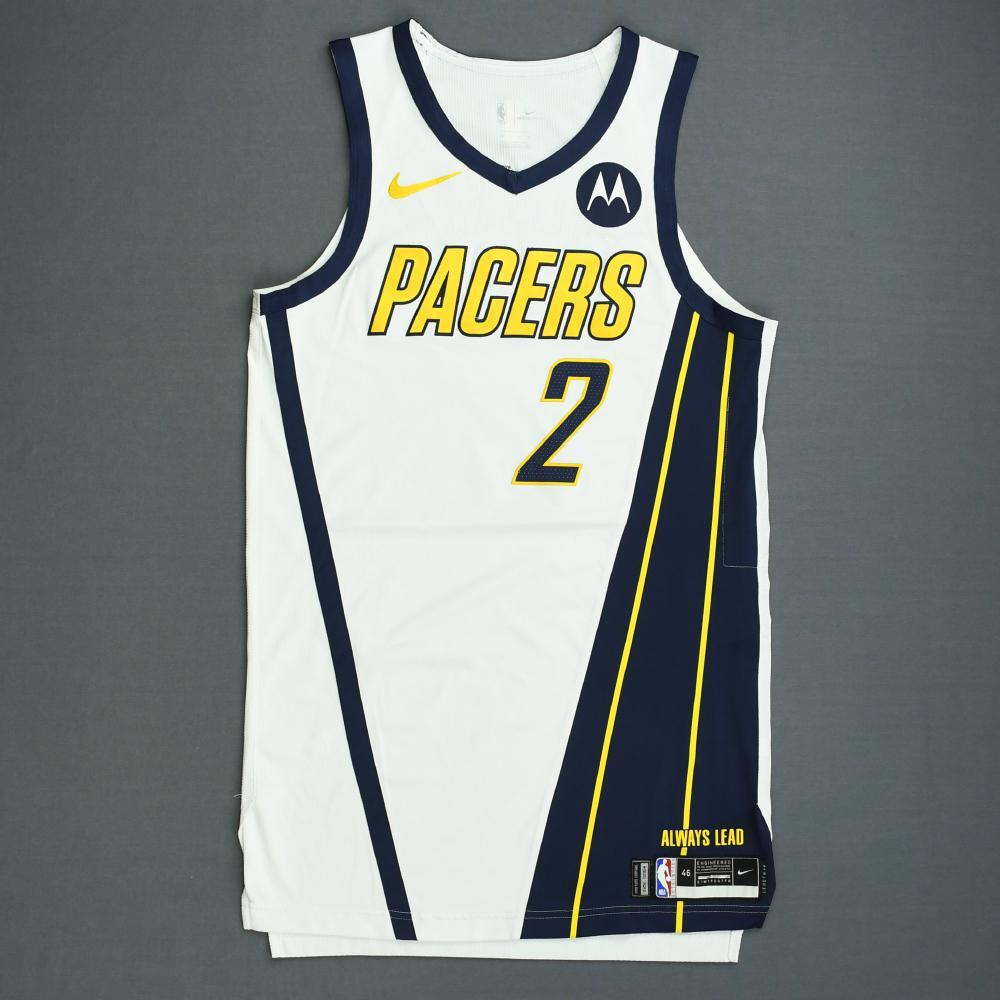 8678d61e7f2b Darren Collison - Indiana Pacers - Game-Worn Earned Edition Jersey - 2019  Playoffs
