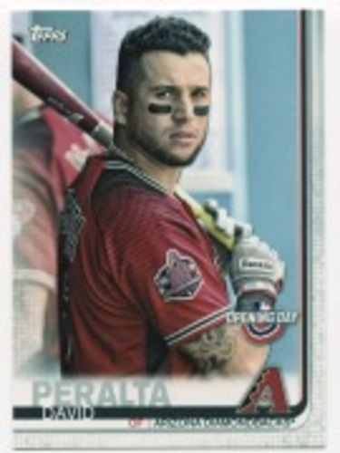 Photo of 2019 Topps Opening Day #92 David Peralta