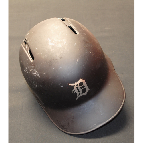"Photo of Dawel ""LA PARA"" Lugo Detroit Tigers Game-Used 2019 Players' Weekend Helmet"