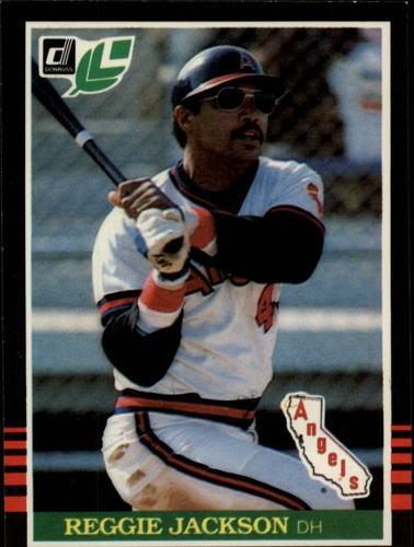 Photo of 1985 Leaf/Donruss #170 Reggie Jackson