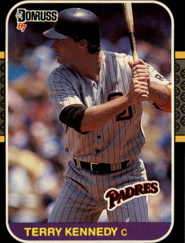 Photo of 1987 Donruss #205 Terry Kennedy