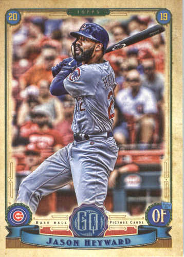 Photo of 2019 Topps Gypsy Queen #272 Jason Heyward