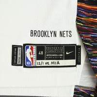 Spencer Dinwiddie - Brooklyn Nets - Game-Worn City Edition Jersey - Scored Game-High 29 Points - 2019-20 NBA Season