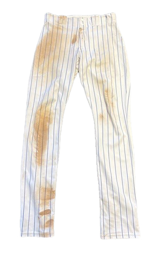 Photo of Willson Contreras Game-Used Pants -- Pirates vs. Cubs -- 5/8/21 -- Size 36-43-38