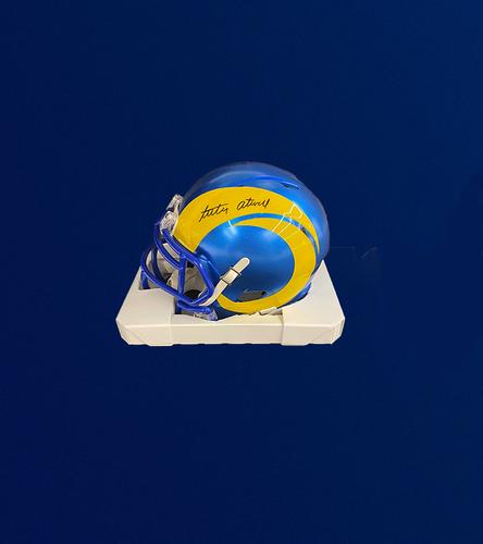 Photo of 2021 2nd Round Draft Pick - Tutu Atwell Signed Mini-Helmet