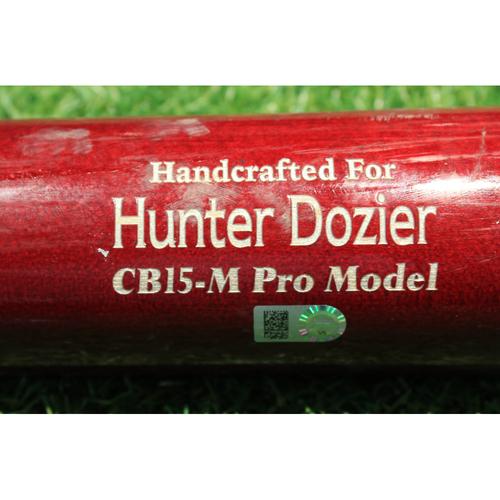 Photo of Team-Issued Bat: Hunter Dozier