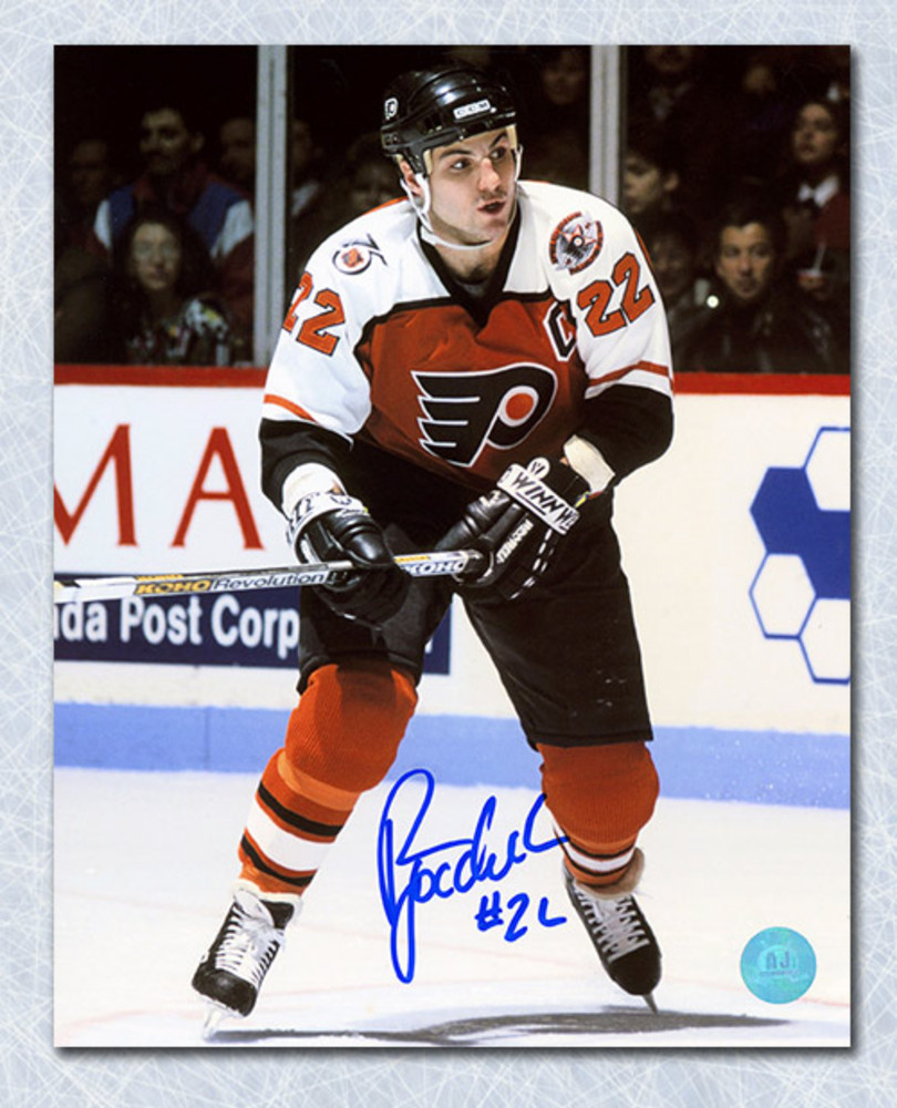 Rick Tocchet Philadelphia Flyers Autographed Captain 8x10 Photo
