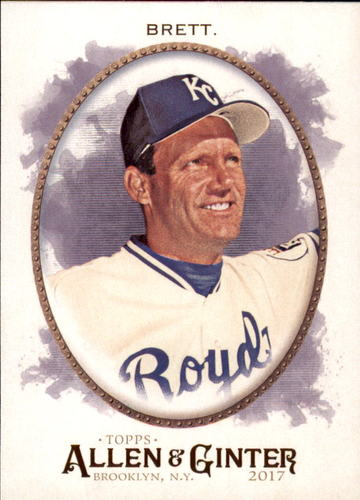 Photo of 2017 Topps Allen and Ginter #252 George Brett
