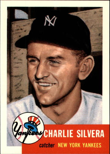 Photo of 1991 Topps Archives 1953 #242 Charlie Silvera