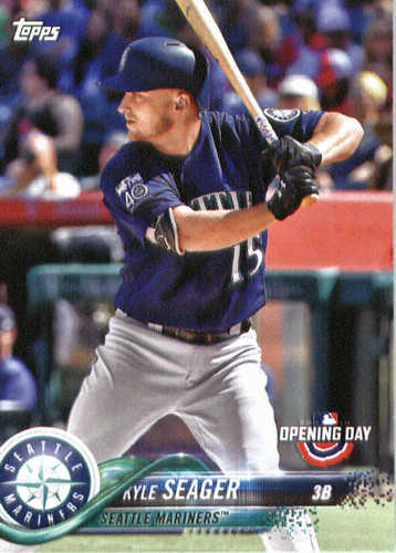 Photo of 2018 Topps Opening Day #186 Kyle Seager