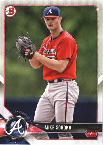 Photo of 2018 Bowman Prospects #BP89 Mike Soroka