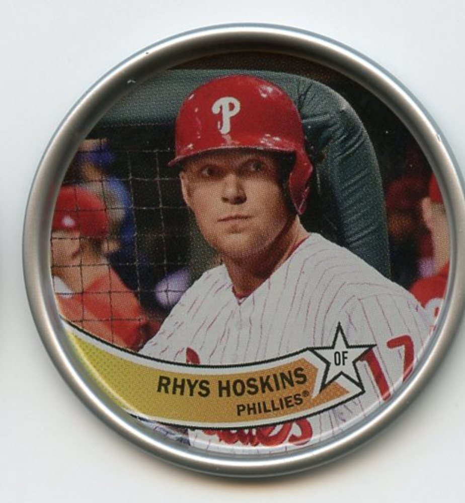 2018 Topps Archives Coins #C22 Rhys Hoskins