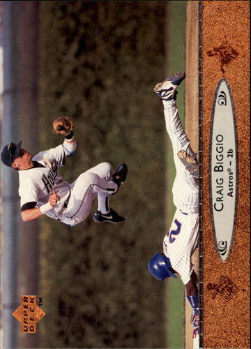 Photo of 1996 Upper Deck #345 Craig Biggio