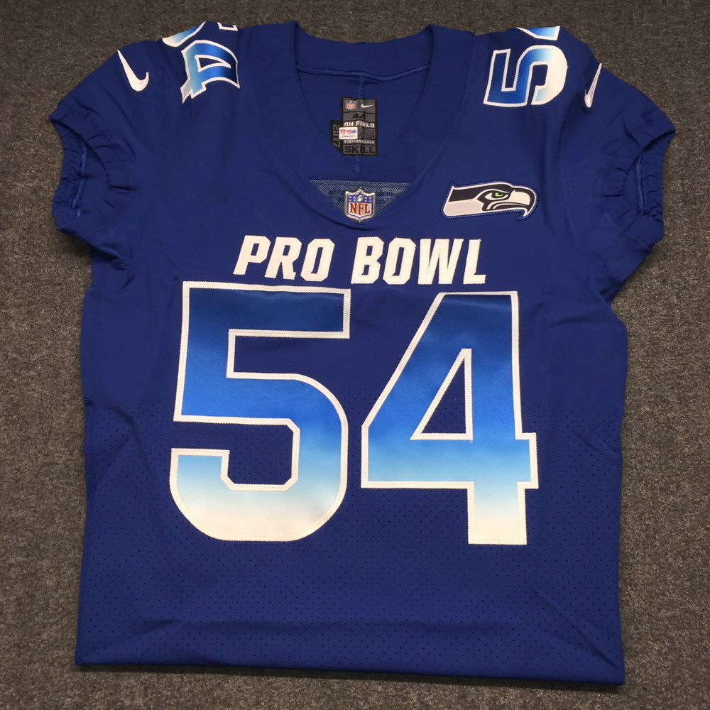 best website 515a1 2add4 NFL Auction | NFL - Seahawks Bobby Wagner 2018 game issued ...