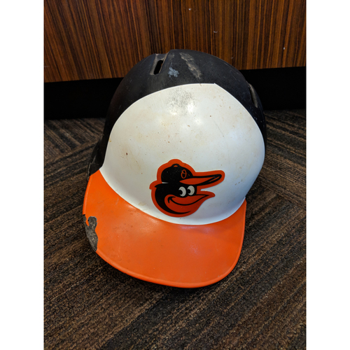 Photo of Chris Davis - Home Batting Helmet: Team-Issued