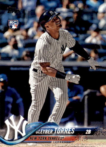 Photo of 2018 Topps Update #US200 Gleyber Torres Rookie Card