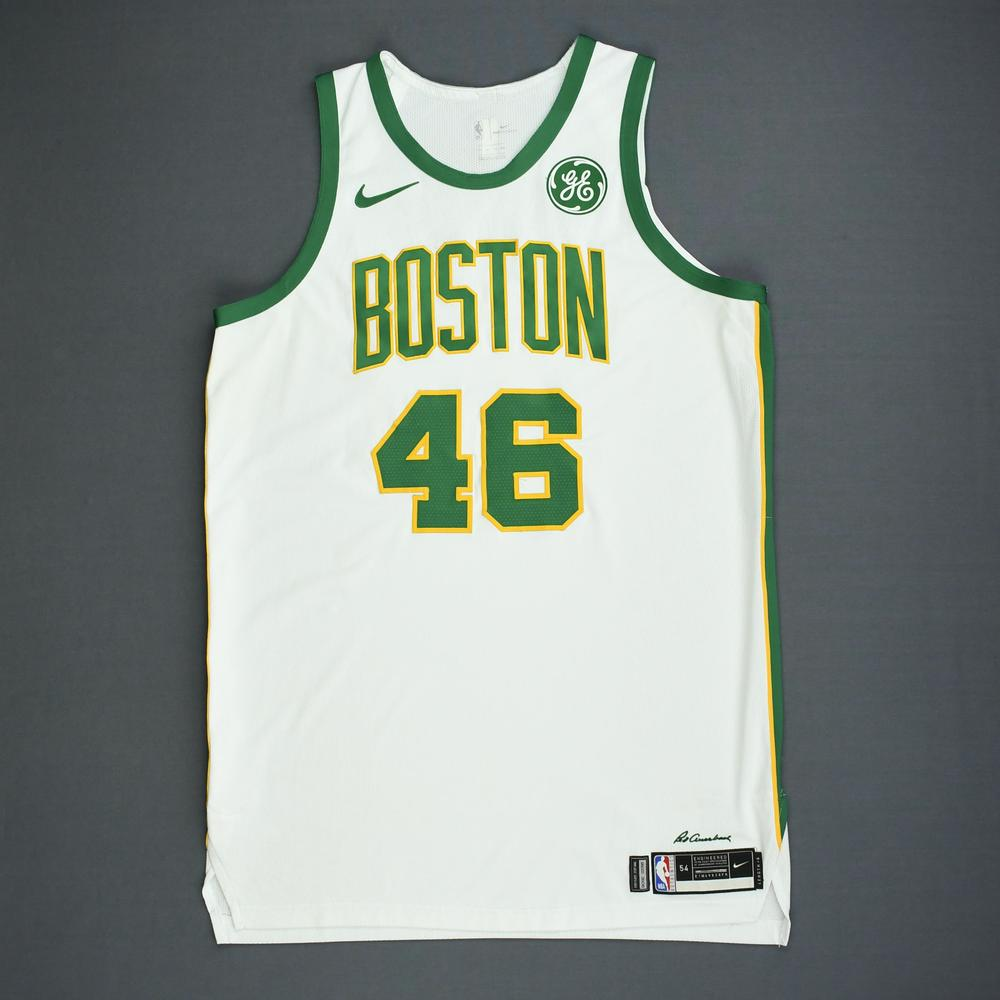 super popular fcdcc 21a14 Aron Baynes - Boston Celtics - Game-Worn City Edition Jersey ...