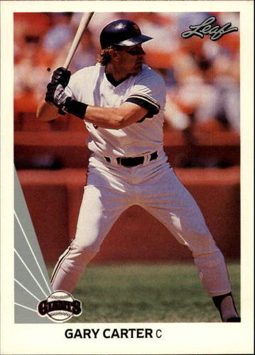 Photo of 1990 Leaf #134 Gary Carter