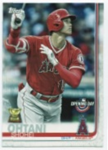 Photo of 2019 Topps Opening Day #100 Shohei Ohtani
