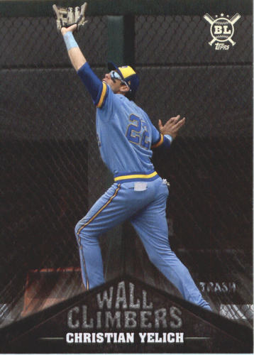 Photo of 2019 Topps Big League Wall Climbers #WC4 Christian Yelich