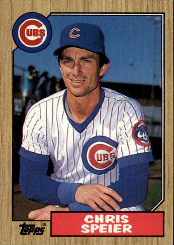Photo of 1987 Topps #424 Chris Speier
