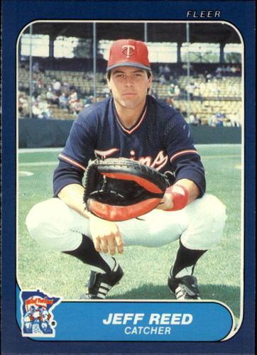 Photo of 1986 Fleer Update #95 Jeff Reed