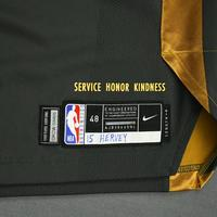 Kevin Hervey - Oklahoma City Thunder - Game-Worn City Edition Jersey - Dressed, Did Not Play - 2019-20 Season