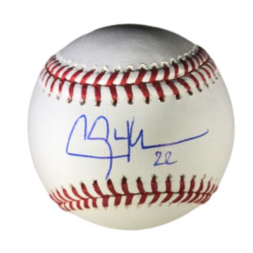 Photo of Clayton Kershaw Authentic Autographed Baseball