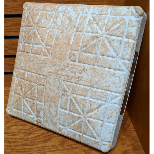 Photo of 2019 Opening Day Red Sox vs. Blue Jays April 9, 2019 Game Used 1st Base