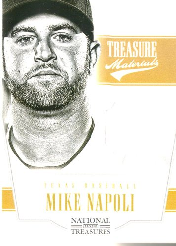Photo of 2012 Panini National Treasures Treasure Materials #46 Mike Napoli/99