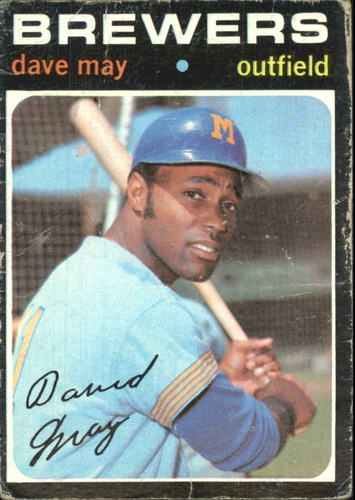 Photo of 1971 Topps #493 Dave May
