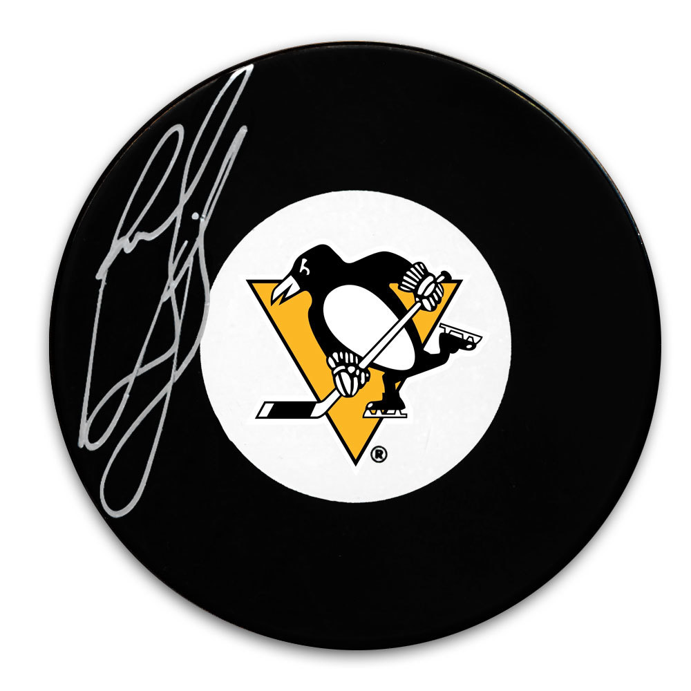 Ron Francis Pittsburgh Penguins Autographed Puck