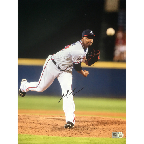 Braves Charity Auction - Mauricio Cabrera Autographed 8x10 Photo