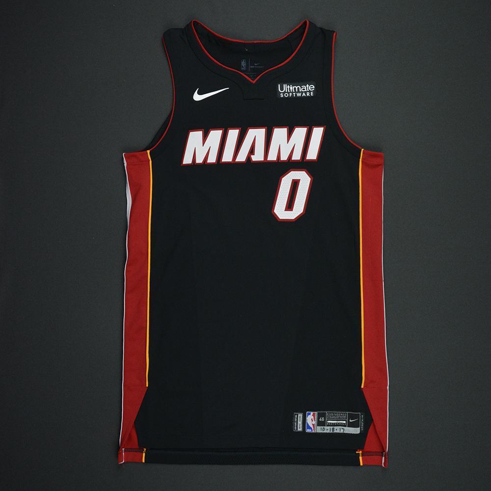 Josh Richardson - Miami Heat - Kia NBA Tip-Off 2017 - Game-Worn Jersey