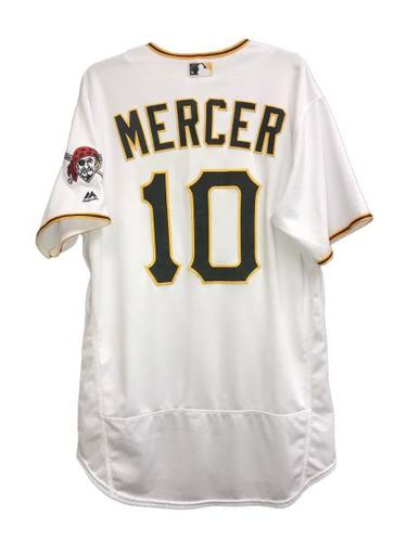 Photo of Jordy Mercer Game-Used Jersey