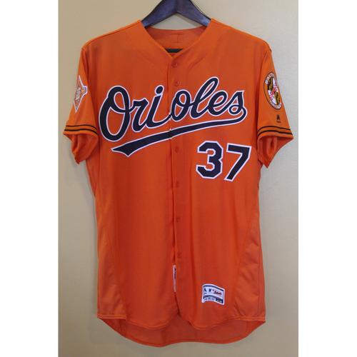 Photo of Dylan Bundy - Orange Alternate Jersey: Team-Issued