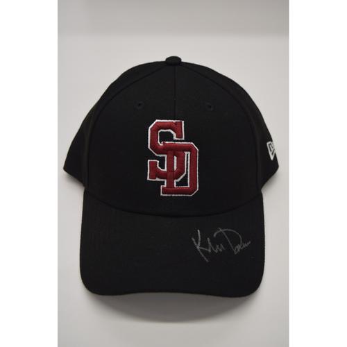 Photo of Khris Davis #2 - Signed & Game-Used Marjory Stoneman Douglas High School Hat - CHARITY AUCTION