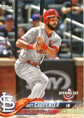 Photo of 2018 Topps Opening Day #187 Matt Carpenter