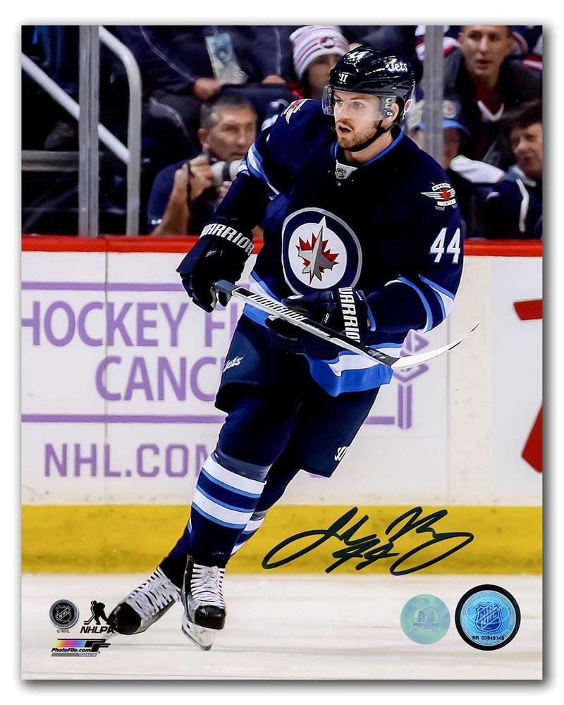 Josh Morrissey Winnipeg Jets Autographed NHL Hockey 8x10 Photo
