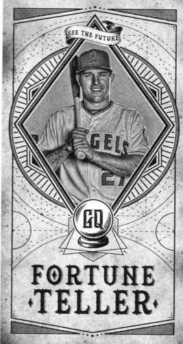 Photo of 2018 Topps Gypsy Queen Fortune Teller Mini #FTM20 Mike Trout