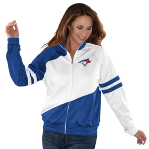 Toronto Blue Jays Women's Perfect Pitch Track Jacket by G3