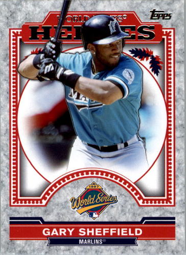 Photo of 2014 Topps Update World Series Heroes #WSHGS Gary Sheffield