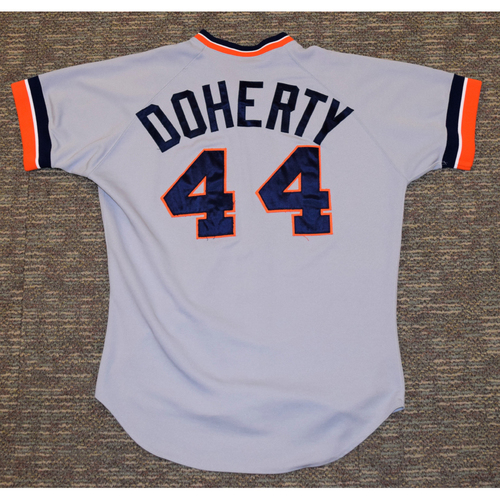 Photo of John Doherty Detroit Tigers #44 Road Jersey (NOT MLB AUTHENTICATED)