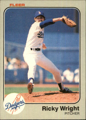 Photo of 1983 Fleer #226 Ricky Wright
