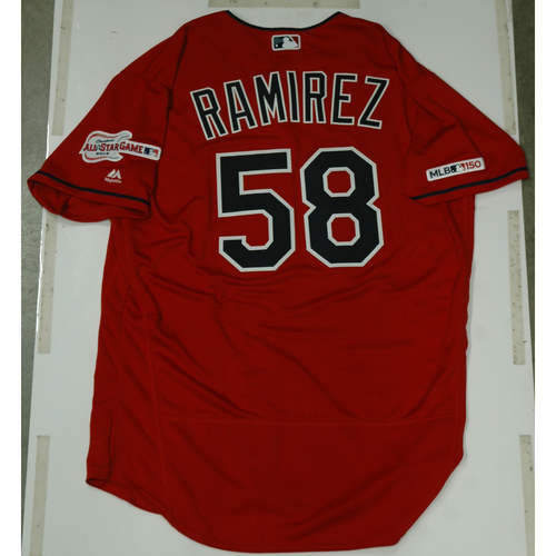 Photo of Neil Ramirez 2019 Team Issued Alternate Home Jersey