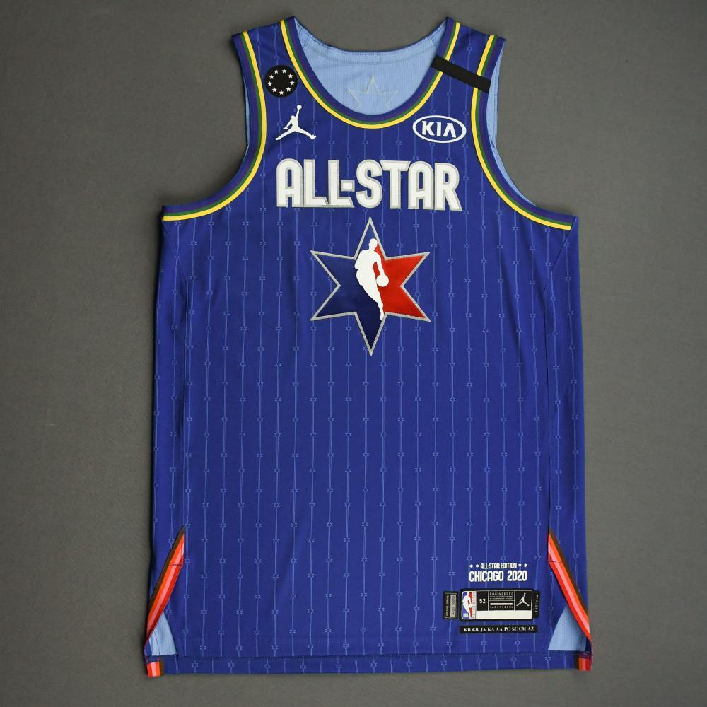 KawhiLeonard - 2020 NBA All-Star - Team LeBron - Autographed Jersey