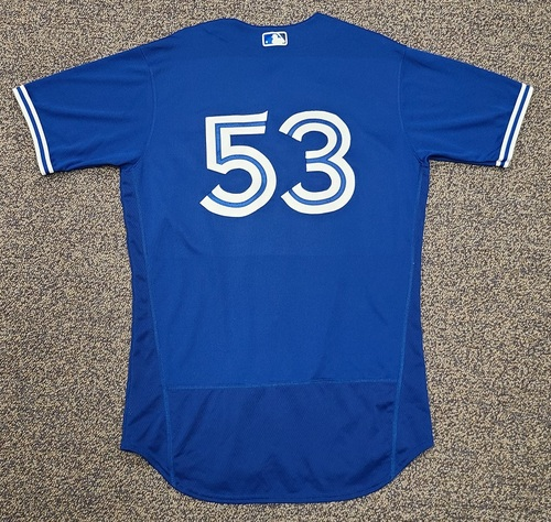 Photo of Authenticated Team Issued 2020 Spring Training Jersey: #53 Mark Budzinski. Size 44